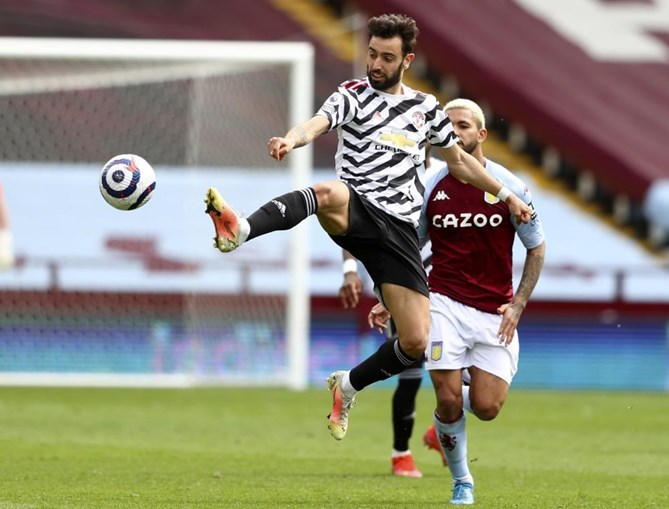 Bruno Fernandes marca em reviravolta do Manchester United