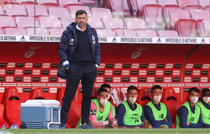 """Sérgio Conceição pediu aos jogadores para """"jogarem como se não houvesse classificação"""""""