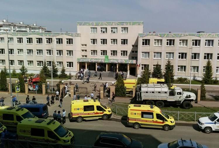 Alunos e professores entre os 11 mortos em tiroteio numa escola na Rússia