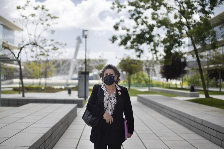 Ana Gomes no julgamento de Rui Pinto