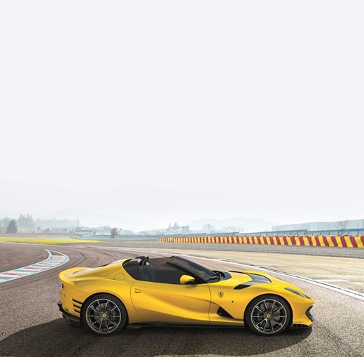 Ferrari 812 Competizione: potência pura