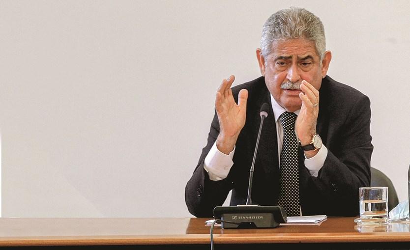 Luís Filipe Vieira foi ouvido, na última segunda-feira, na comissão de inquérito parlamentar ao NB
