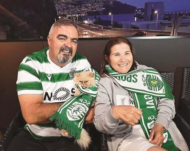 Dolores Aveiro com José Andrade