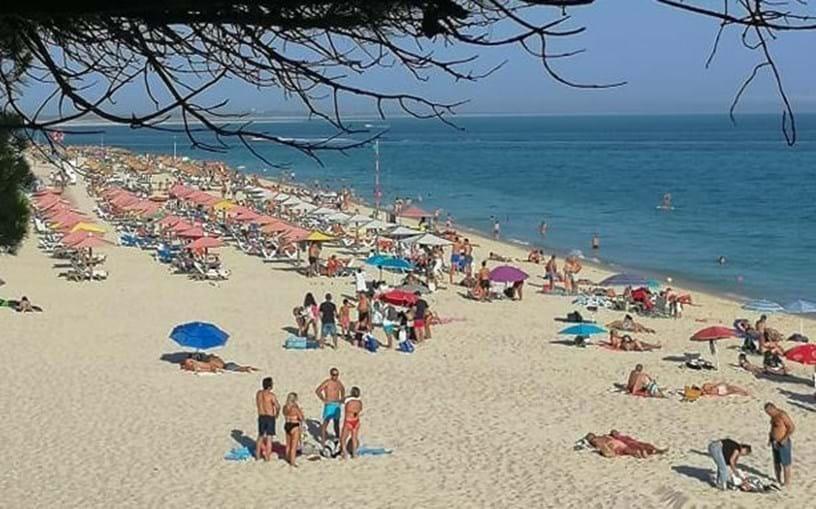 Praia da Figueirinha na Arrábida, Setúbal