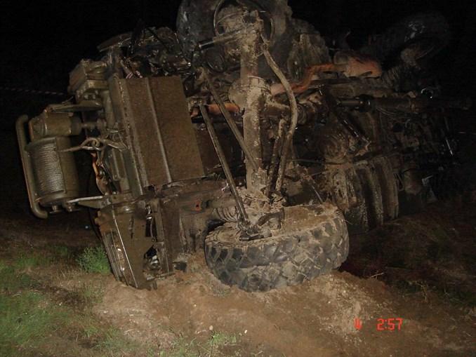 Viatura Unimog dos Fuzileiros levava as 12 vítimas