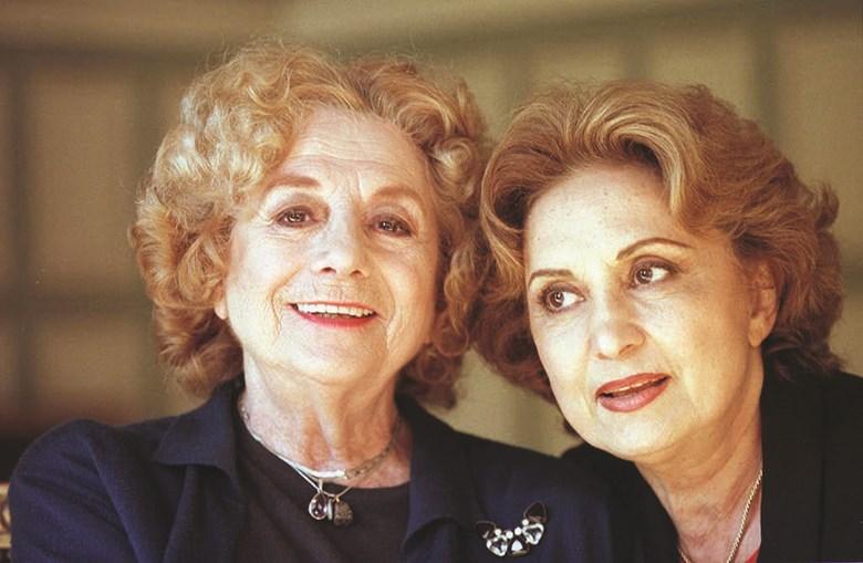 Eva Wilma ao lado de Eunice Muñoz