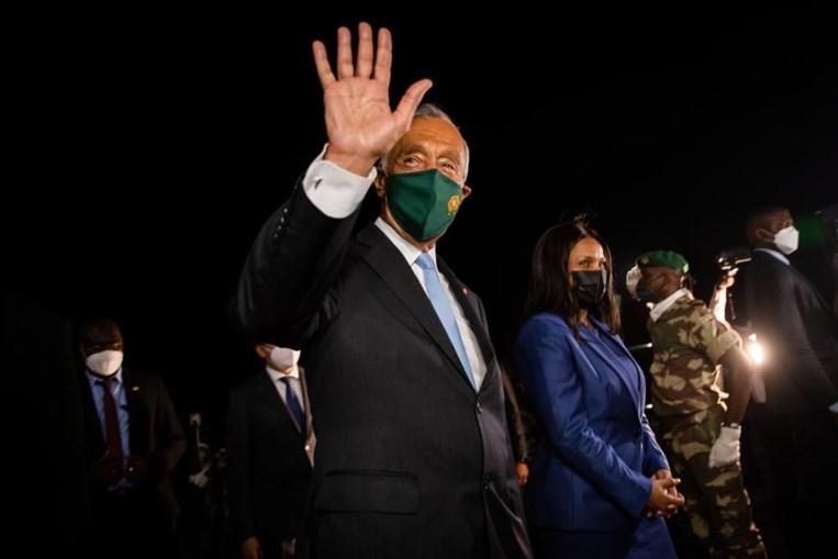 Marcelo Rebelo de Sousa na Guiné-Bissau