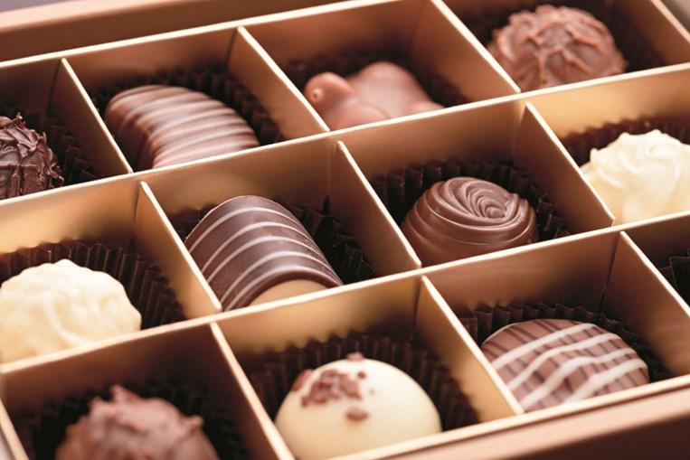 Os bombons de chocolate são um dos presentes mais apreciados
