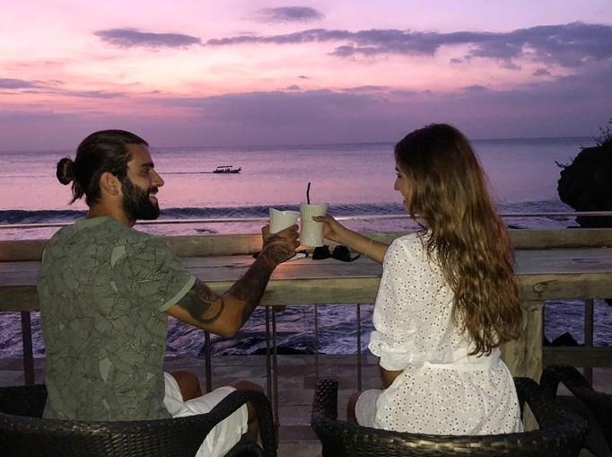 Sérgio Oliveira  e Cristina Pereira viajaram para destino de sol
