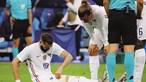 Benzema sai lesionado e dá gás ao rival Giroud