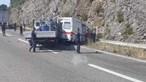 Trânsito condicionado na A1 em Minde após avaria de ambulância seguida de abalroamento