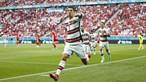 'Vamos com tudo para dar mais uma alegria aos portugueses': A mensagem de Cristiano Ronaldo após triunfo de Portugal