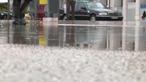 Casas e vias inundadas devido a chuva forte nos Açores