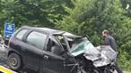 Mulher morre em violenta colisão entre carro e camião em Oliveira de Azeméis