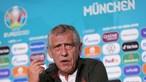"""""""Não tenho medo nenhum da Alemanha"""", diz Fernando Santos confiante"""