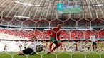 Ronaldo arranca partida Portugal-Alemanha com sprint a 32 km/hora