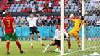 Problema na direita explica desaire na arena de Munique no jogo entre Portugal e Alemanha no Euro