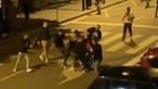 Desacatos entre jovens obrigam PSP a intervir em Vila Real. Veja as imagens