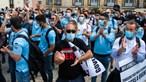Manifestação do Movimento Zero continua sem hora para acabar, 10 horas após o início