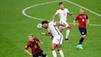 Inglaterra domina grupo D no Euro 2020