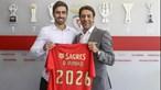 Gil Dias assina até 2026 pelo Benfica