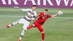 Cristiano Ronaldo somou recordes no Euro 2020 mas 'faltou' aos 'oitavos'