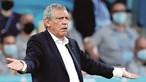 'Tenho jogadores a chorar no balneário': Fernando Santos lamenta resultado de Portugal no Euro