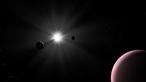 Descoberto terceiro exoplaneta aquático a transitar de 'surpresa' a estrela Nu2 Lupi