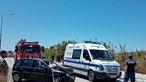 Colisão frontal entre carros faz dois feridos em Sines