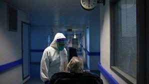 Mais de 100 doentes Covid internados nos Cuidados Intensivos