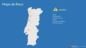 Lisboa e Braga entre os seis concelhos que arriscam falhar regras de 14 de junho