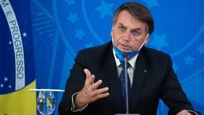Bolsonaro diz que Brasil pode ser um dos países com menos mortes por Covid no mundo