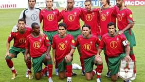 Seleção portuguesa de futebol sofreu em 2004 a mais dolorosa derrota da sua história