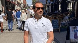 Frederico Varandas de férias em família no país da namorada