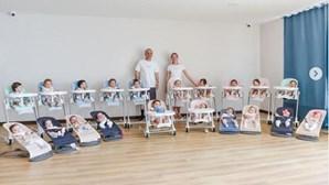 Casal tem 20 bebés num ano e gasta 66 mil euros em amas
