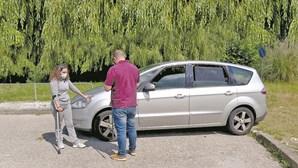 Violento acidente de carro atira mãe para a miséria