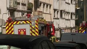 Prédio desabitado desaba em Lisboa