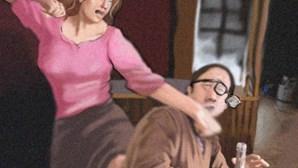 Ataca ex-companheiro com uma tesoura à frente dos filhos em Albufeira