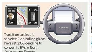 Jornal do Dubai usa foto de José Sócrates para ilustrar condutor da Uber