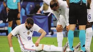 Karim Benzema é figura do momento da seleção francesa pela negativa