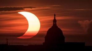 Perdeu o eclipse solar de hoje? Veja aqui as melhores imagens
