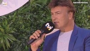 Tony magoado com música da filha Sara Carreira em programa da TVI manifesta-se em direto