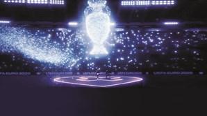 Cerimónia de abertura do Euro 2020 com U2 num estádio virtual