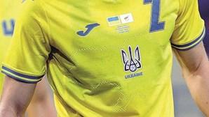 Ucrânia forçada a mudar a camisola devido a polémica com a Rússia