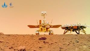 China publica imagens a cores da superfície de Marte. Veja aqui