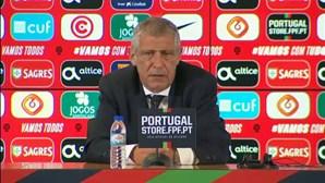 Fernando Santos faz balanço da preparação da Seleção Nacional para o Euro 2020