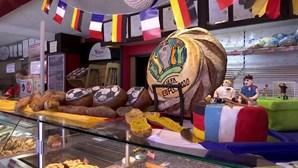 Pasteleiro cria pão e bolos inspirados no Euro 2020 para adoçar a boca aos adeptos