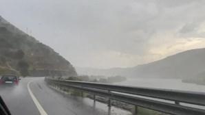 Chuvas fortes em Foz Côa