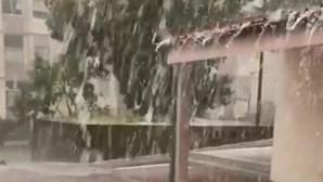 Chuvas fortes fizeram sentir-se em Vila Real esta sexta-feira