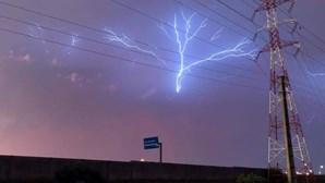 Depois da tempestade, o céu ganhou cor na região Norte do País